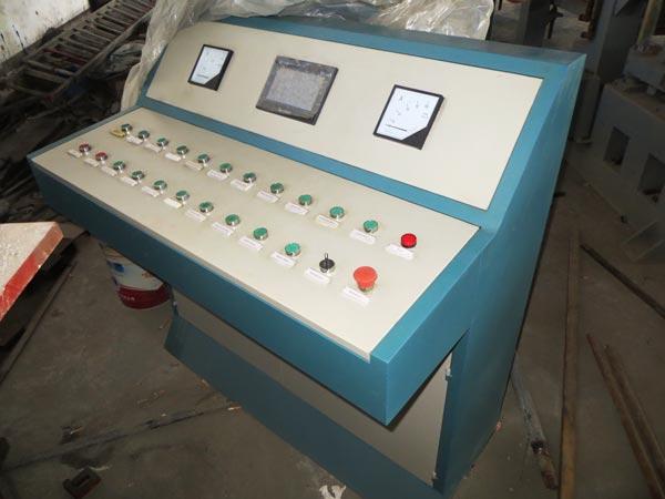 intelligent PLC control system bricks moulding machine