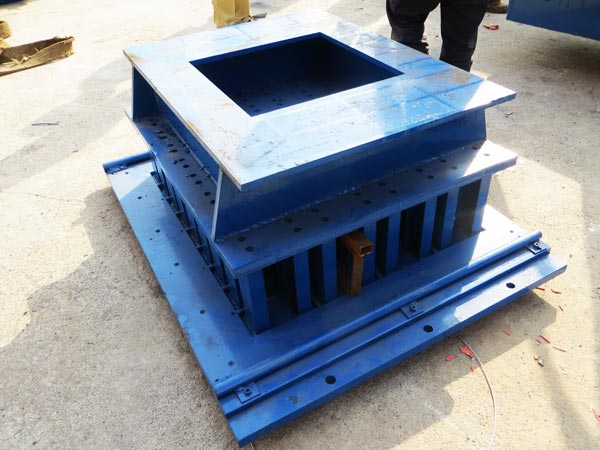 mold of hollow block machine