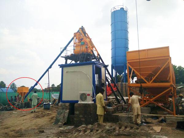 AJ-35 concrete plant in Pakistan