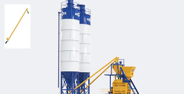 Cement Silo s with Screw conveyor