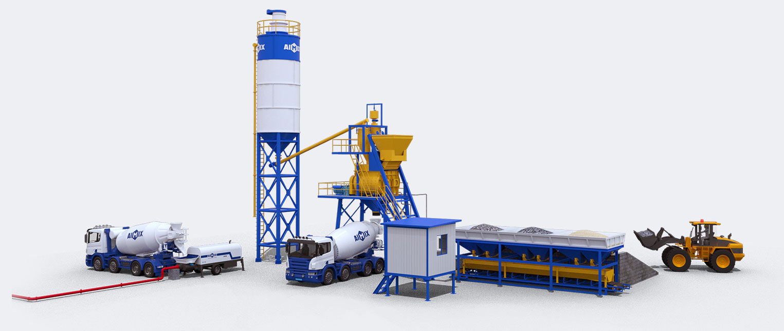 Complete Working Principle And Application Of Batching Production Plant In Pakistan