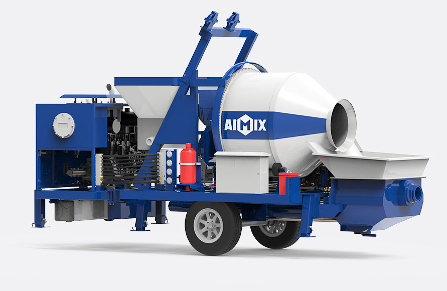 Cost-Effective Concrete Mixer With Pump In Pakistan