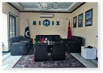 AIMIX GROUP IN PAKISTAN OFFICE