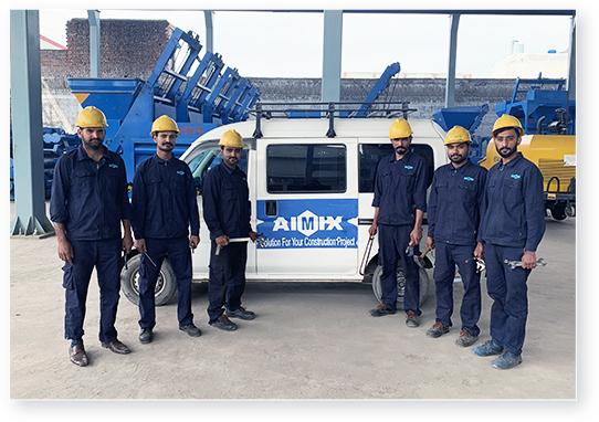 AIMIX GROUP IN PAKISTAN TEAM