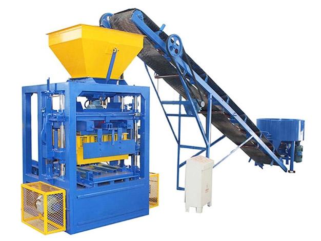 AMB4S Block Machine
