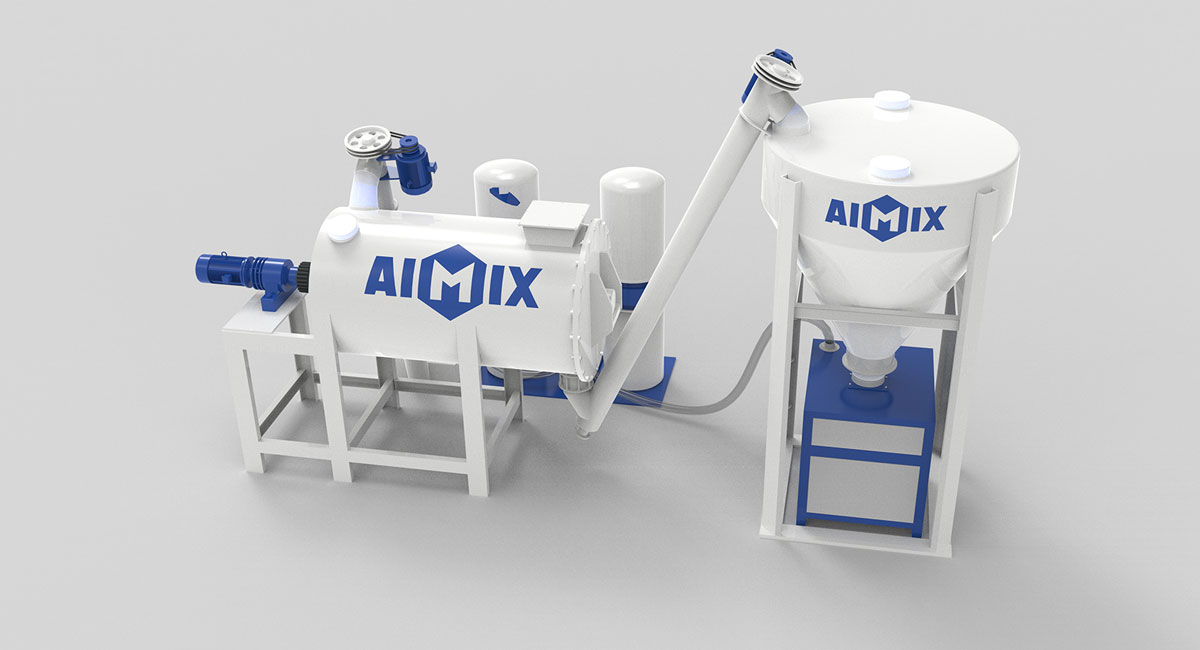 dry mortar production plant in Pakistan